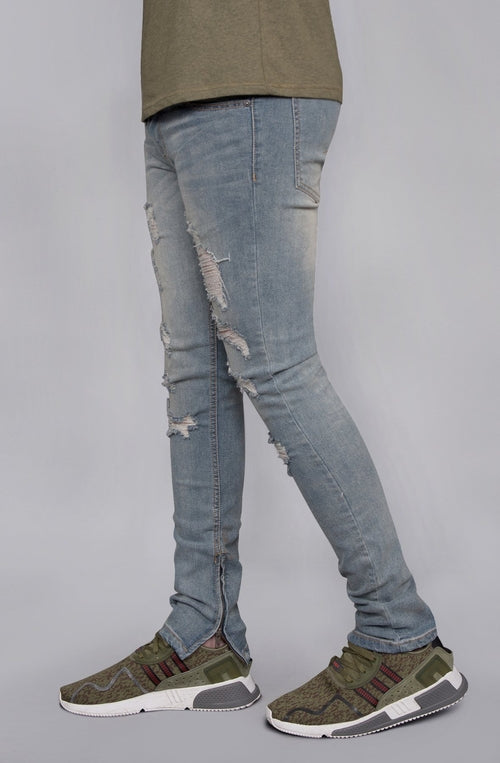 Distressed Skinny Jeans