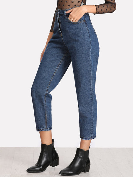 Straight Ankle Jeans