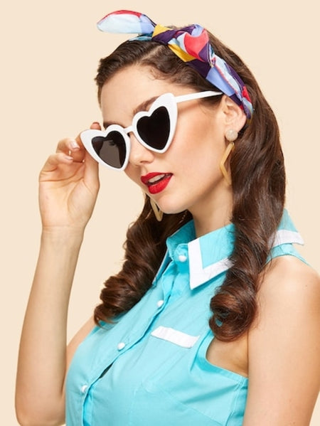 Magnificent Vintage Big Frame Sunglasses