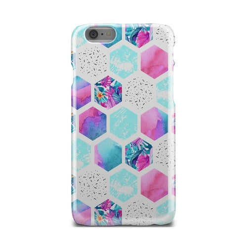 Colorful Hexagon Pattern Geometric iPhone X Case