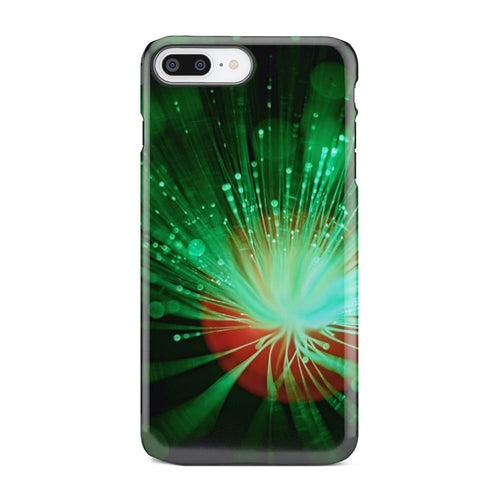 Electric Green Neon Fiber Unique iPhone X Case