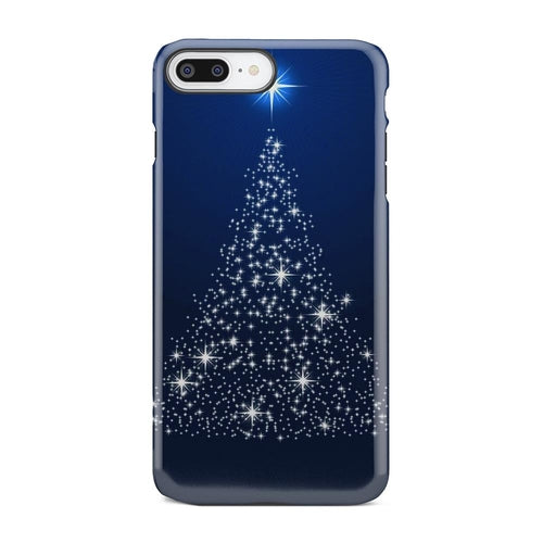 Christmas Tree Of Shining Stars iPhone X Case