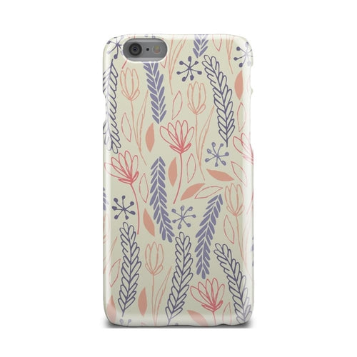 Blue Peach And Red Spring Floral Cute iPhone X