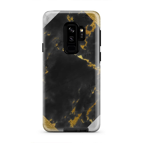 Black Gold And White Marble Luxury iPhone X Case