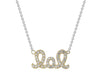 18kt Gold Plated Sterling Silver Laugh Out Loud