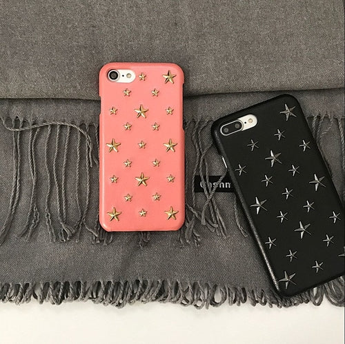 Studded Stars iPhone Case