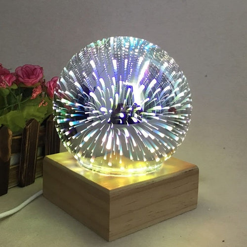 Mesa 3D Firework Table Lamp