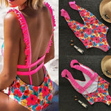 Attractive Women Bikini Set Swimwear Push-Up