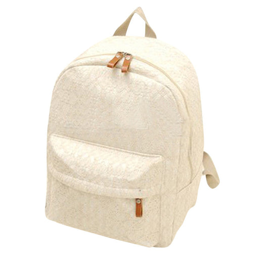 Canvas Lace Backpack