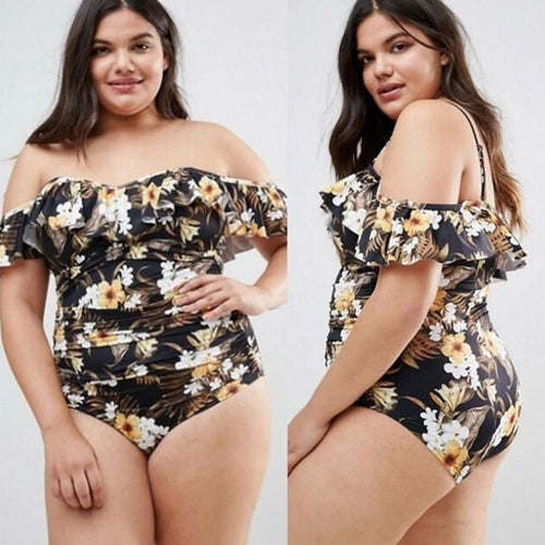 Beautiful New Style Plus Size Women Off Shoulder