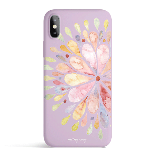 Blissful Mandala - Colored Candy Cases Matte TPU