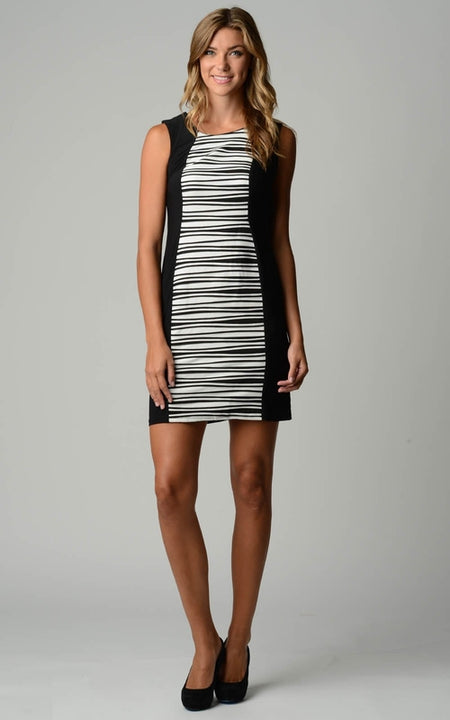 Sleeveless Dress with Slits