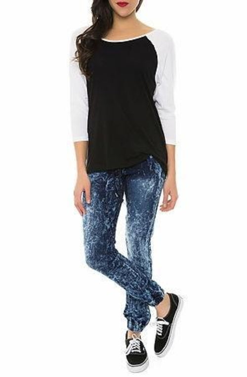 Pearl Jeans Collection Skinny Jeans (Ice Dark
