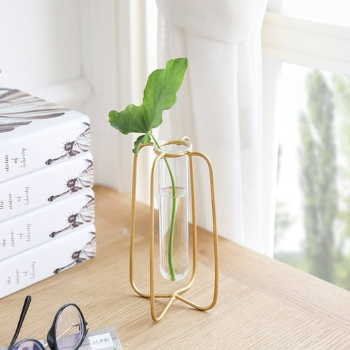 Decoration Metal Tube Vase