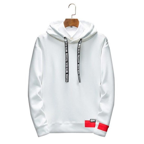 Smart Casual Hoodie Top