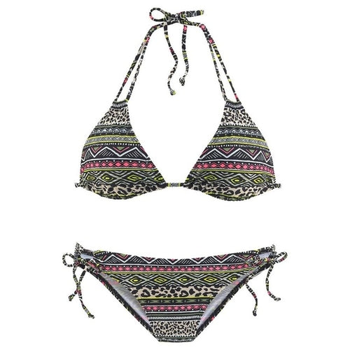New Arrival Women Bikini Set Swimwear Halter Vest