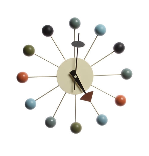 Ball Clock - Multicolor - Reproduction | GFURN