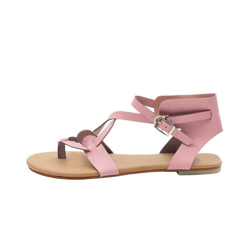 Ankle Round Toe Sandals