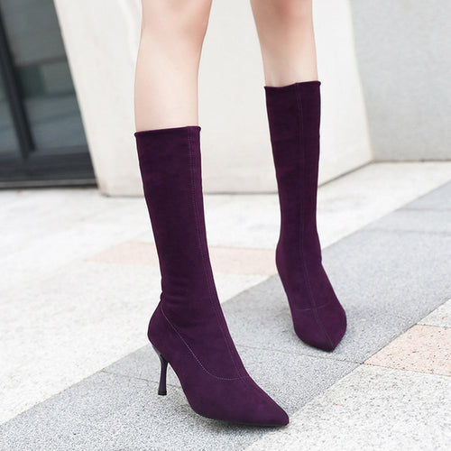 Heel High Long Boots