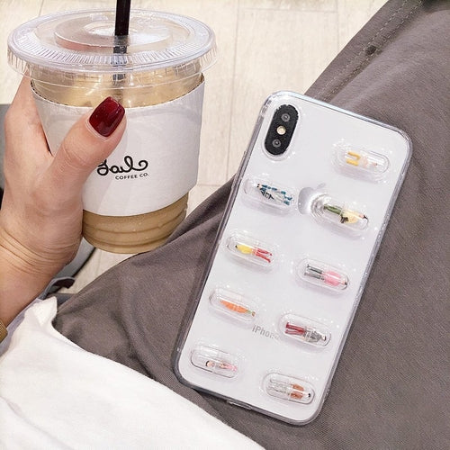 Capsule iPhone Case
