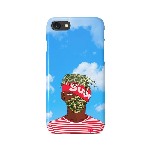 Lil Uzi Vert Kakashi Clouds SUPREME iPhone Case