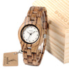 Wood Ladies Dress Watch