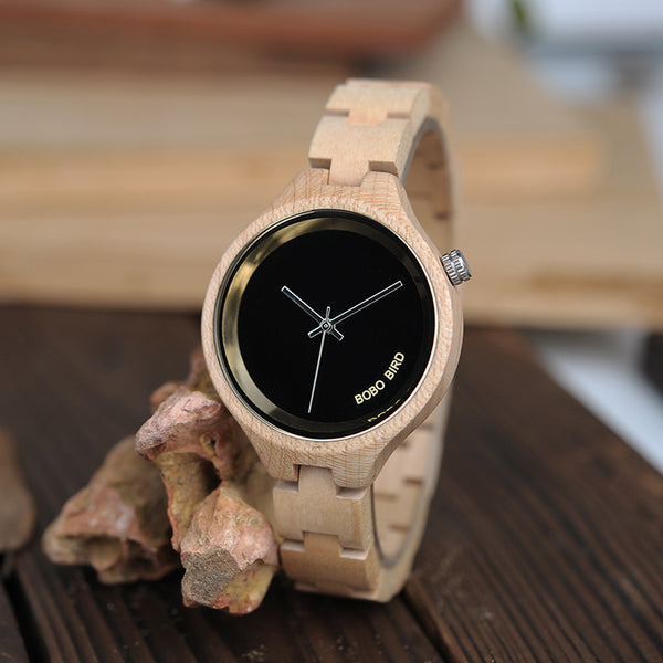 Handmade Wooden Ladies Wrist Watch