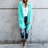 Winter Warm Hooded Sweater Coat