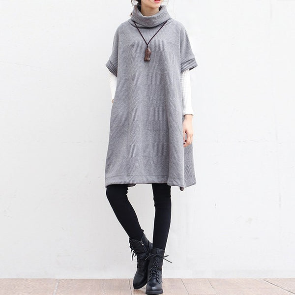 Turtleneck Dress Sweater