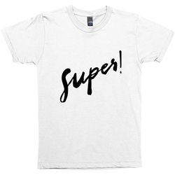 Super! Basic Short Sleeve T-Shirt