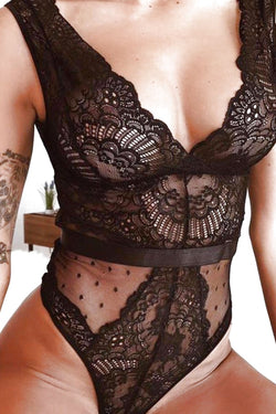Date Is On Lace Bodysuit
