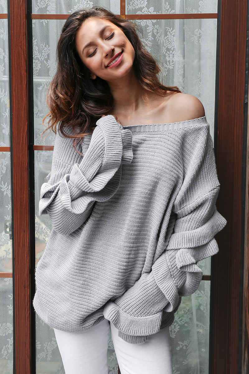 womens cardigan sweater sweatshirt for women sweatshirt for girls sweatshirt sweaters sweater for women sweater ruffle sweatshirt ruffle sleeve sweater oversized sweaters oversized knit sweaters off the shoulder sweater dress