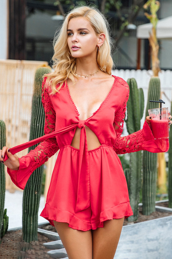 womens jumpsuit summer playsuit ruffle romper ruffle playsuit ruffle jumpsuit ROMPERS romper suit low cut jumpsuit long sleve jumpsuit long sleeve romper lace up jumpsuit lace romper lace jumpsuit jumpsuit going out playsuits dressy rompers and jumpsuits dressy jumpsuit