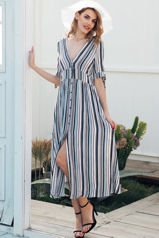 blue stripe dress dresses with slit in the front slit dress midi dress midi dresses with sleeves vertical striped dress striped dress womens dresses online cheap prom dresses under 30 cheap homecoming dresses under 50 party dresses dresses womens dresses formal dresses cocktail dresses mididresses maxidresses everydaydresses alldresses