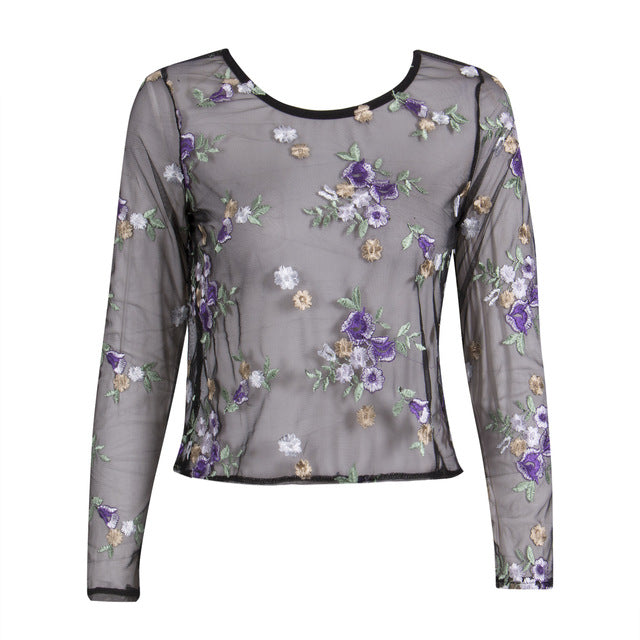 womens embroidered tops womens blouses tops sexy top sexy blouses see through top partytops party tops long sleeve crop top long sleeve crop blouse long sleeve blouse going out top floral embroidered top fashionable going out tops embroidered top CROPTOPS cropped blouse crop top outfits crop top clubbing tops cheap crop tops