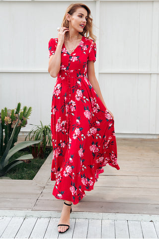 summer maxi dresses cheap summer dress summer maxi dress floral summer dress slit dresses dresses with slit in the front floral dresses floral maxi dresses casual maxi dresses casual floral maxi dress maxidresses floraldresses everydaydresses