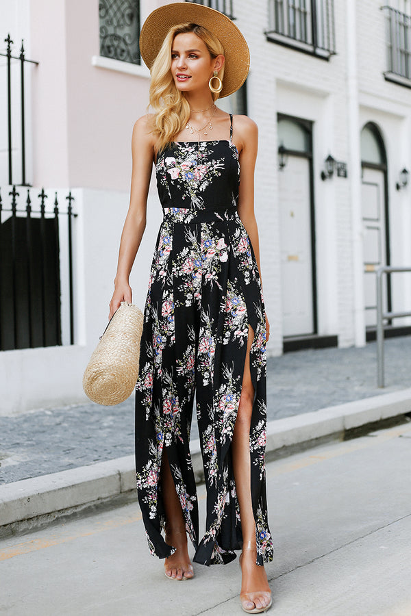 maxi jumpsut jumpsuits jumpsuit going out playsuits floral romper floral playsuit floral jumpsuit dressy rompers and jumpsuits black jumpsuit ALLJUMP