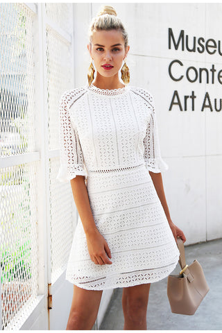 Angelical Knitted Dress