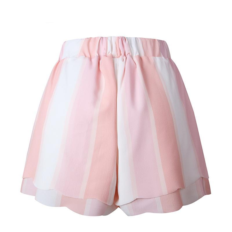 Pinkish Bow Tie Shorts