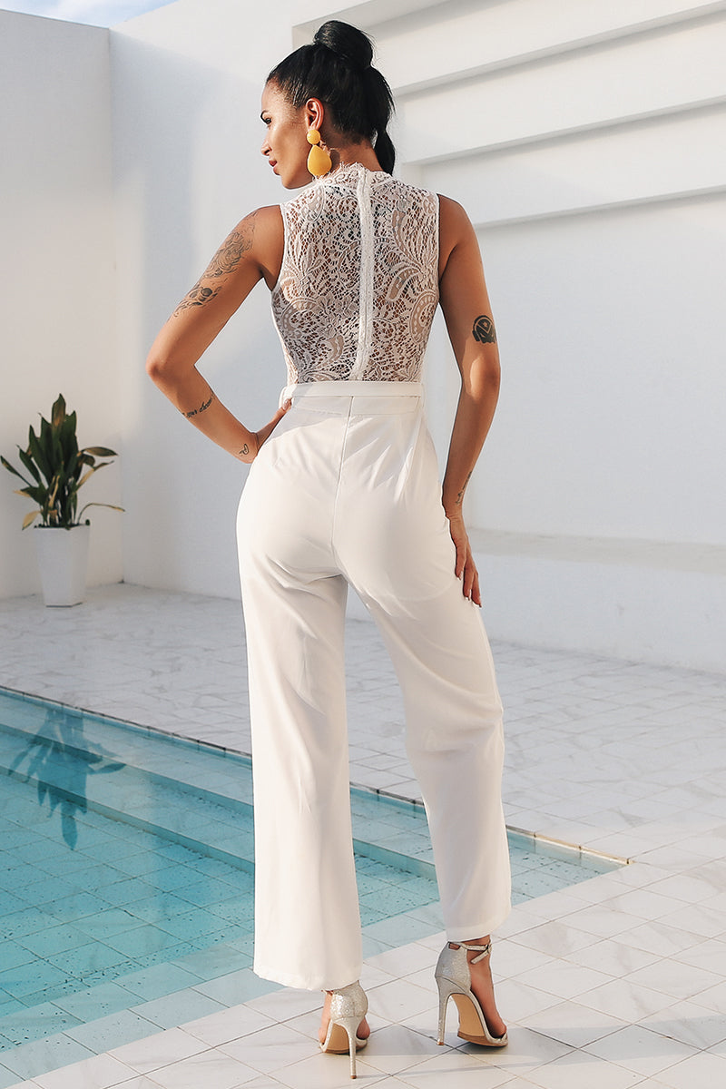 womens jumpsuit white jumpsuit summer playsuit romper suit romper maxi jumpsut lace romper lace jumpsuit jumpsuits jumpsuit halterneck romper halterneck playsuit halterneck jumpsuit going out playsuits dressy rompers and jumpsuits dressy jumpsuit