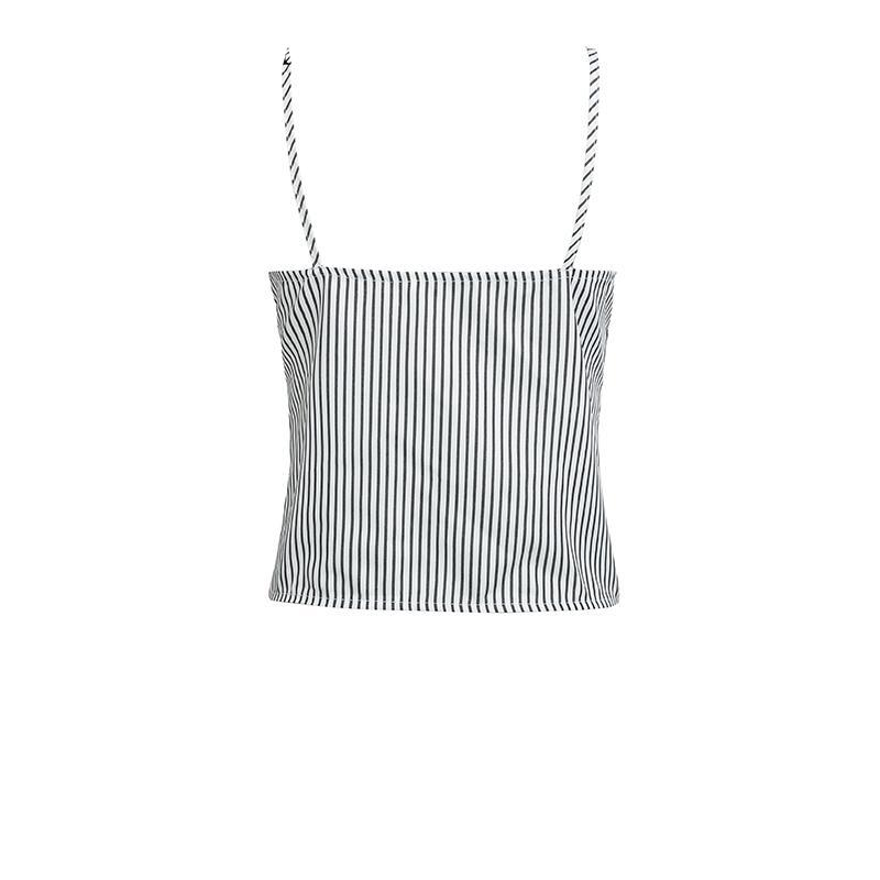 front tie tshirt tie front blouse spaghetti strap top spaghetti top striped shirt bouse striped blouse womens shirts and blouses ladies tops womens blouses blouse partytops croptops basictops alltops