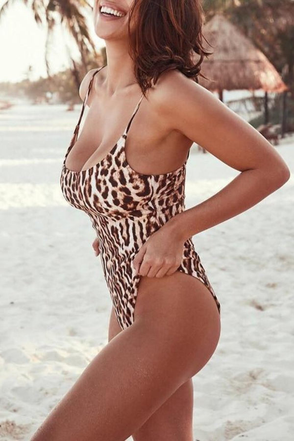 Swimwear Animal swimwear swimsuit onepiece one piece swimsuit one piece bikini Leopard Swimwear leopard swimsuit animal print swimsuit allswimwear