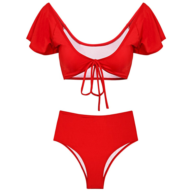 twopiece two piece swimwear two piece bikini swimwear high waist bikini bikini