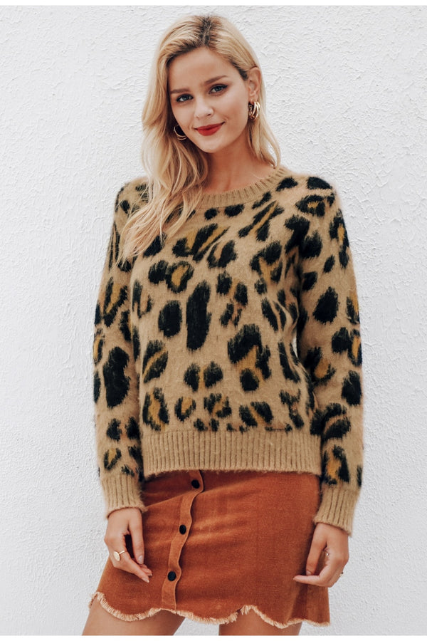 Leopard Sweater womens sweater sweatshirt for girls sweatshirt sweaters sweater leopard sweatshirt leopard print sweater