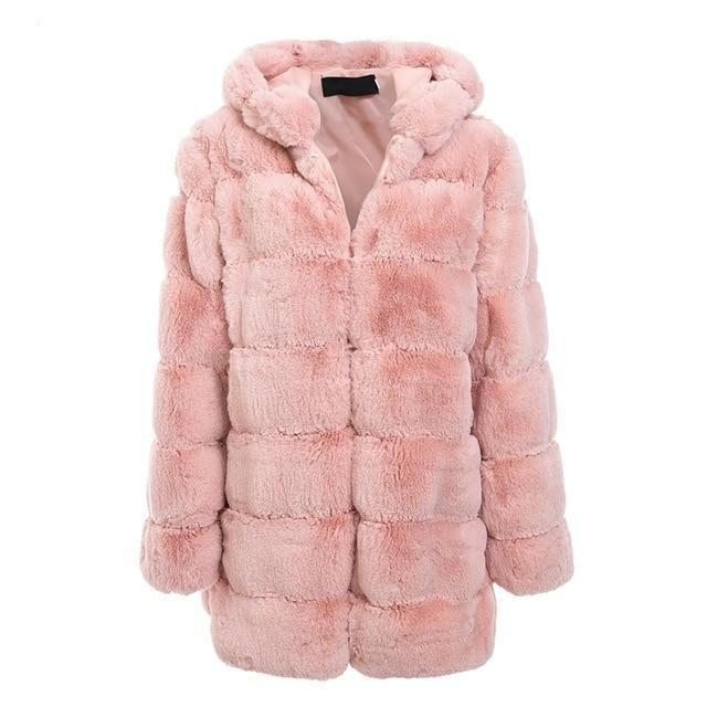 Oversized Faux Fur Coat womens hooded coats shaggy fur coat shaggy faux fur coat padded hooded coat ladies jackets ladies coats jackets hooded winter coats hooded coats women