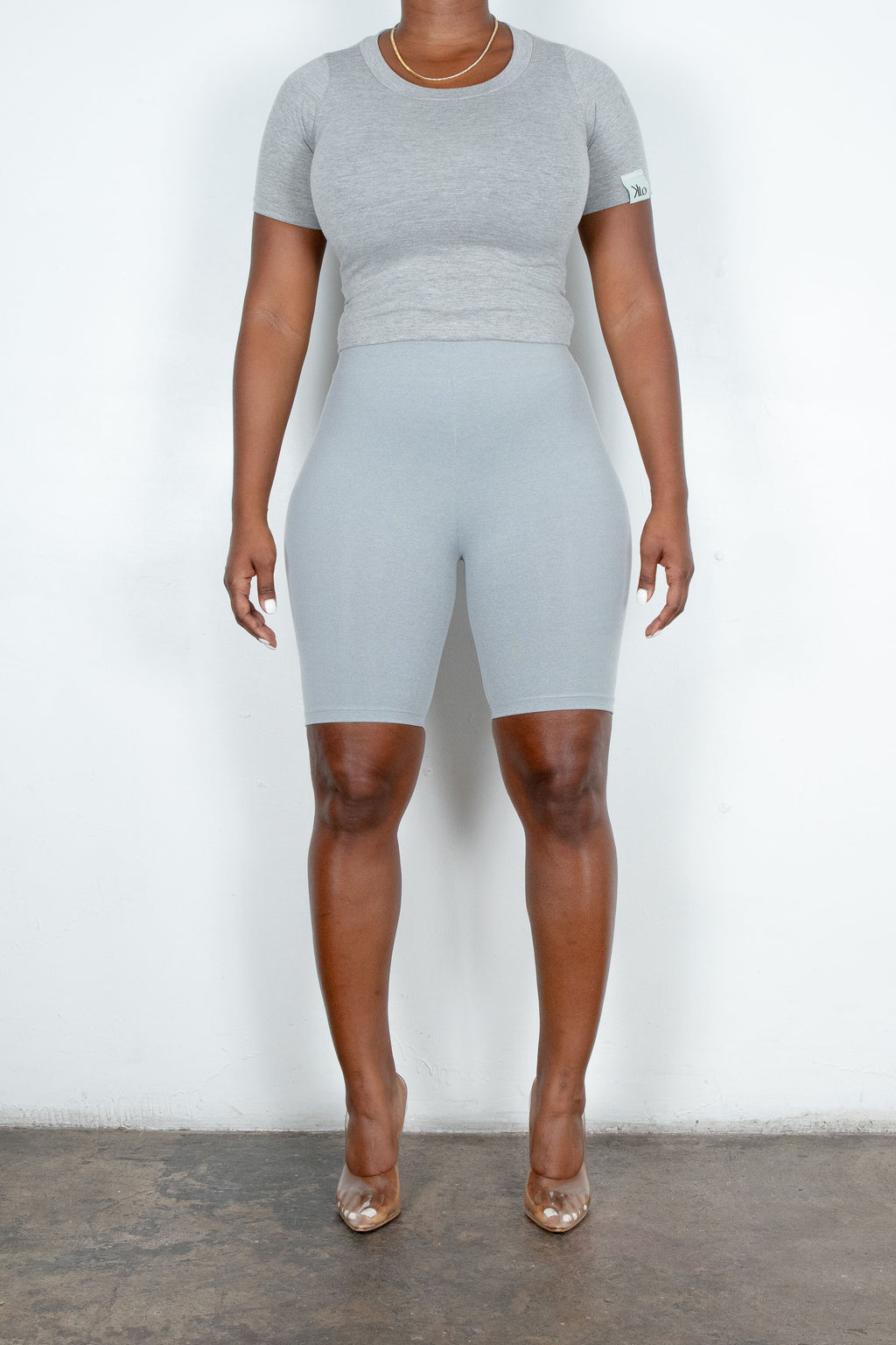 Ash Rider Shorts (Heather Grey)