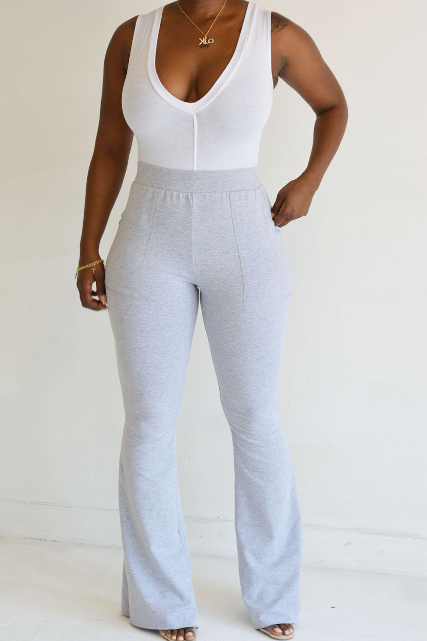 Dia Pants (Heather Grey)