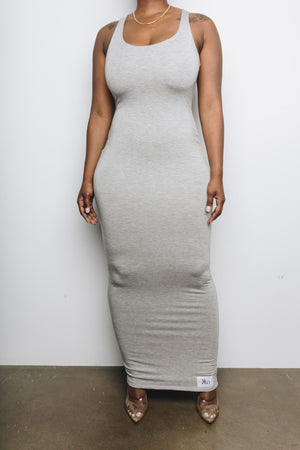 RyRy Dress (Heather Grey)