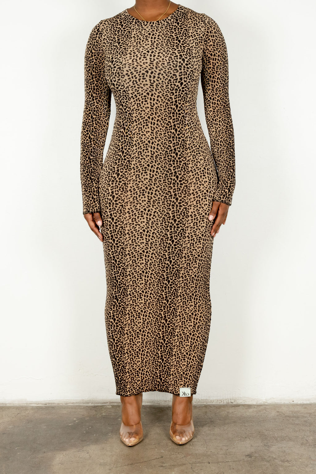 Monika Dress (Leopard)