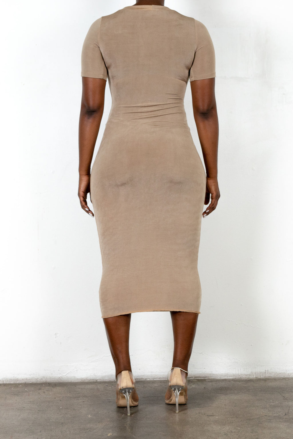 Elaine Dress (Khaki)